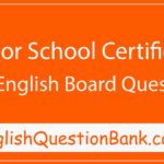JSC English Second Paper Question 2014 BARISAL BOARD